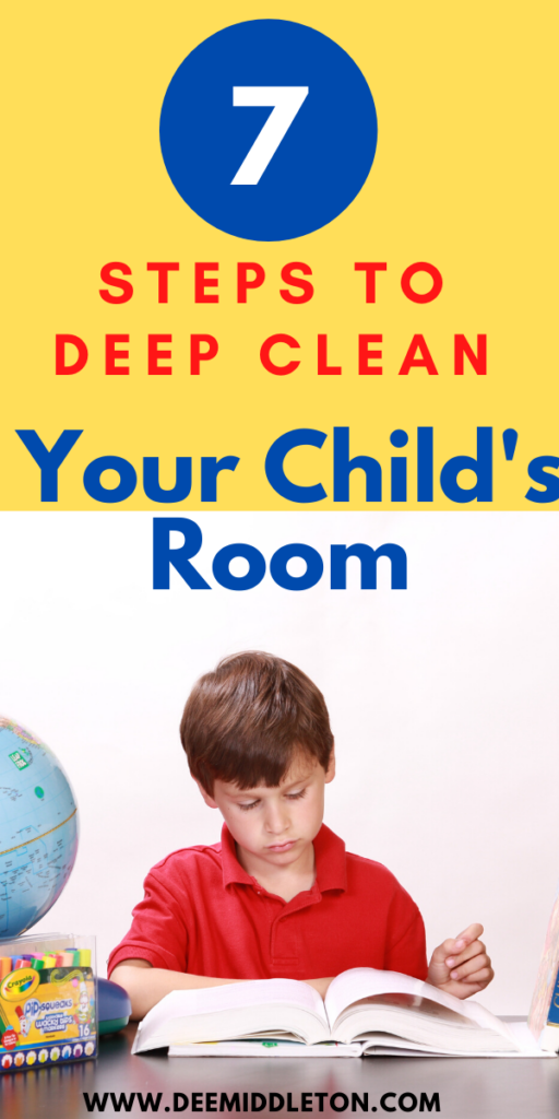 HOW TO DEEP CLEAN YOUR KID'S ROOM