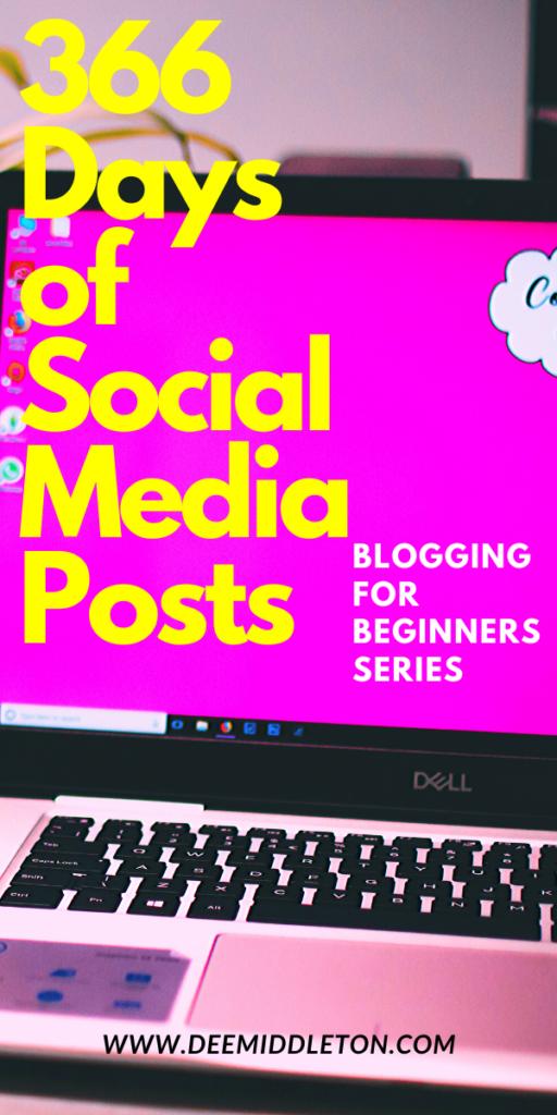 366 DAYS OF SOCIAL MEDIA POST IDEAS