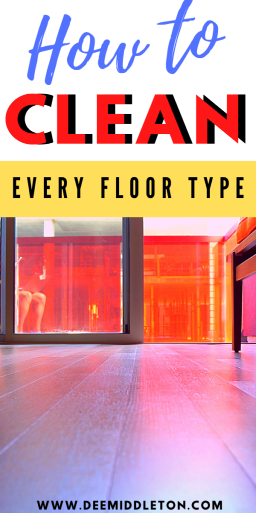 How do I keep my floors clean?