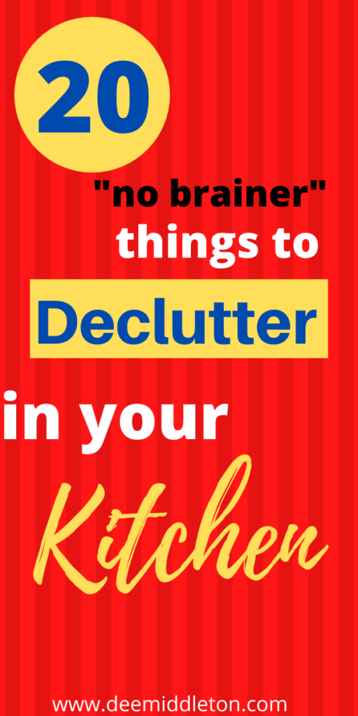 Kitchen Declutter Hacks (you can do in 30 minutes)