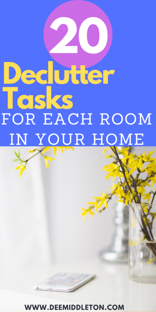 Home Declutter Hacks (you can do in 30 minutes)