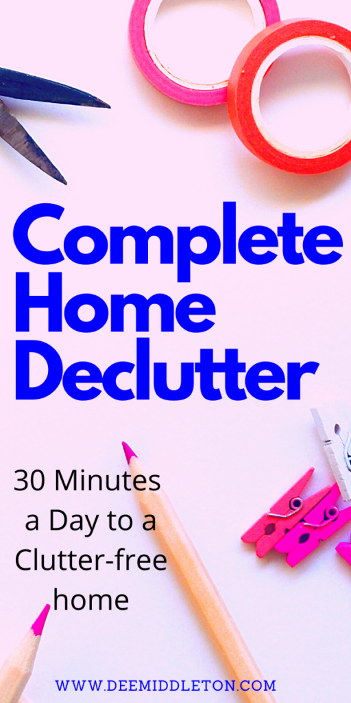 complete home declutter