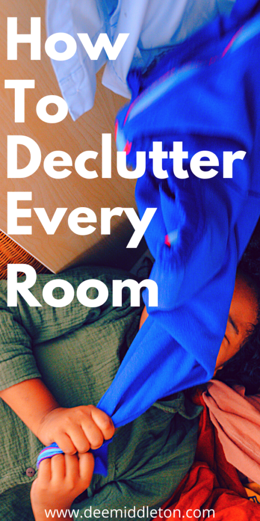 DECLUTTER CHECKLIST FOR ENTRY, FOYER, MUDROOM