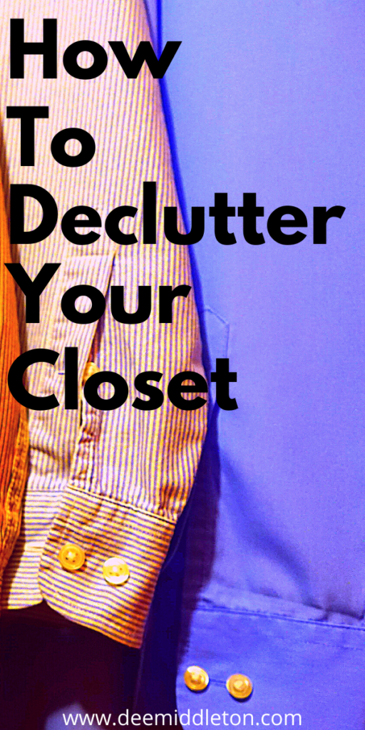 CLOSET AND CLOTHING DECLUTTER CHECKLIST