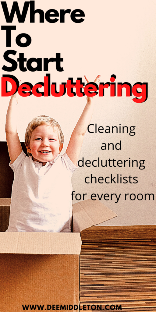Where to Start Decluttering