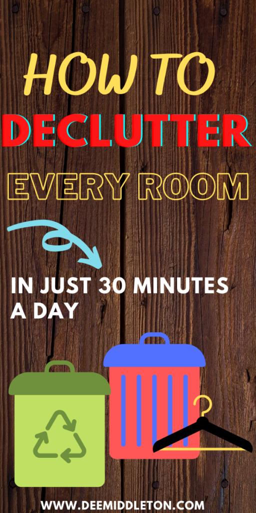 Home Declutter Tips