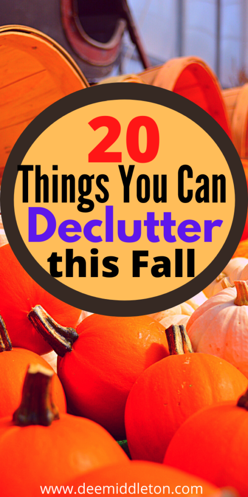 20 Things to Declutter