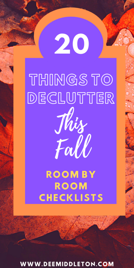Simple Declutter Checklist