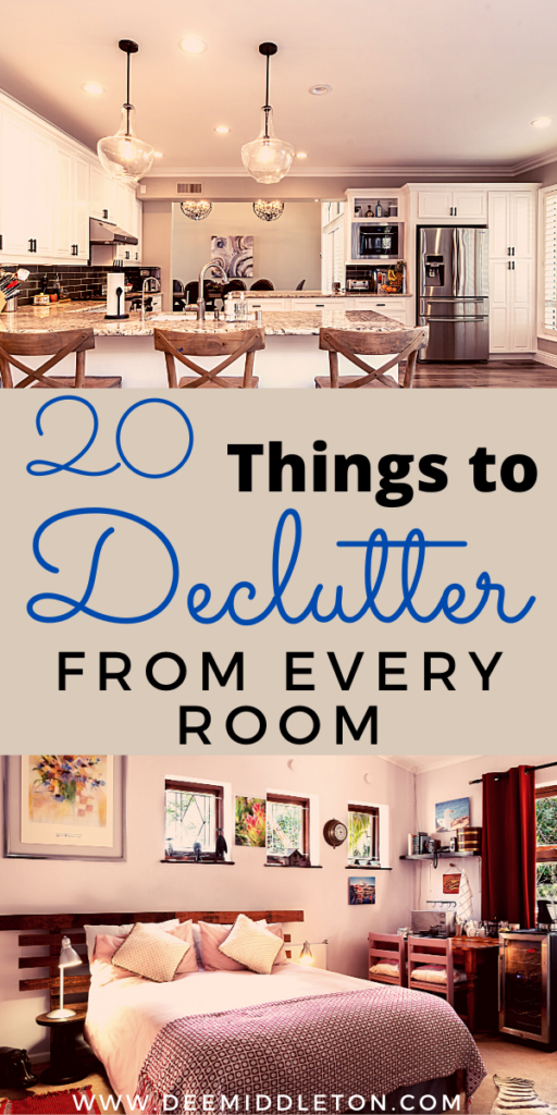 20 Things to Declutter- Home Declutter