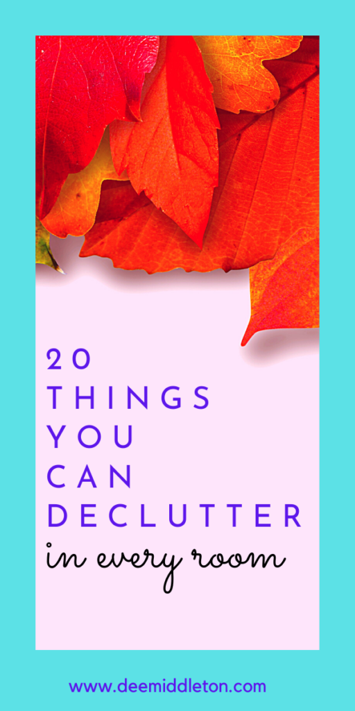 20 Things to Declutter Every Month