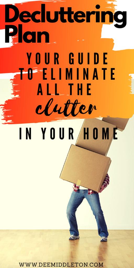decluttering plan, Decluttering Your Life