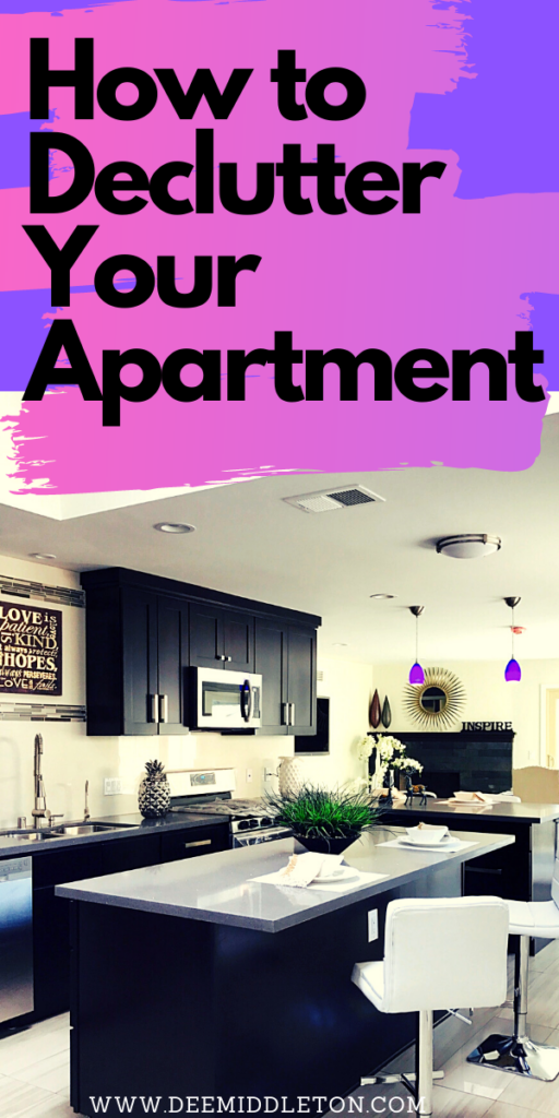how to declutter your apartment