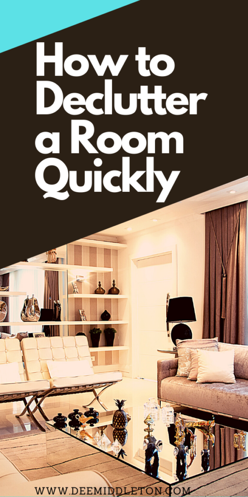 How to Declutter a Room Quickly