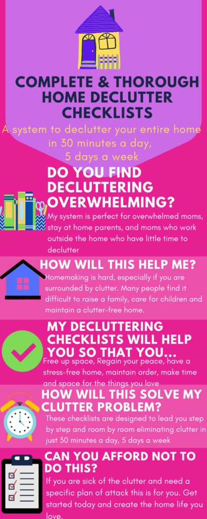 home decluttering guide