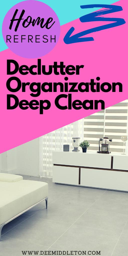 declutter organization