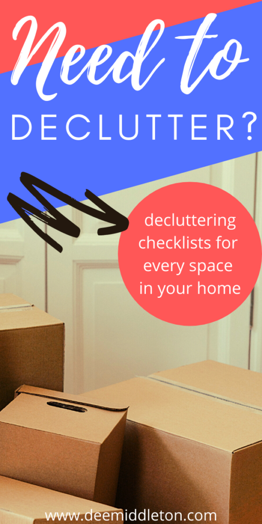 Need to Declutter