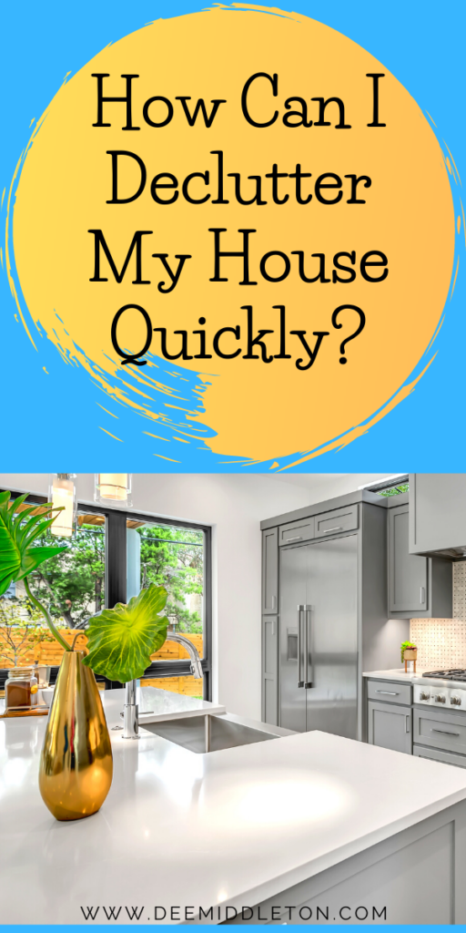 How Do I Begin to Organize my House? How Do You Declutter When You Don't Know Where to Start? Why Can't I Throw Anything Away? Living in a Cluttered Home?