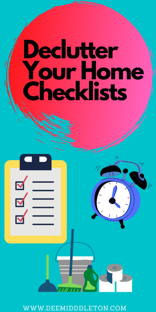Declutter Your Home Checklists