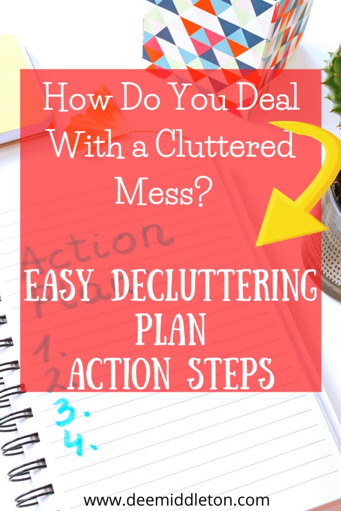 Easy Decluttering Plan