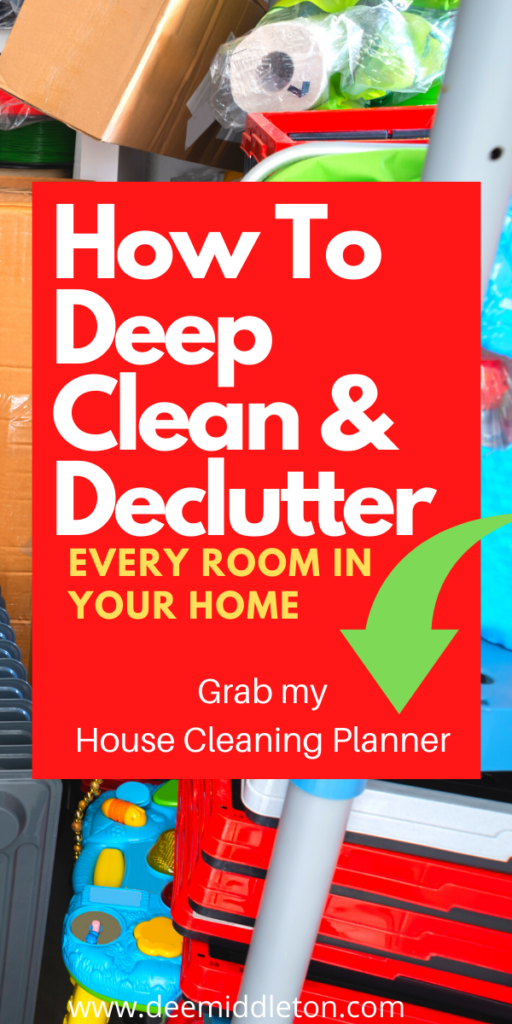 House Cleaning Planner