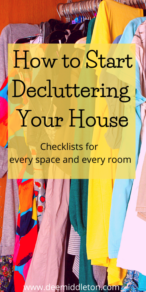 How to Start Decluttering Your House