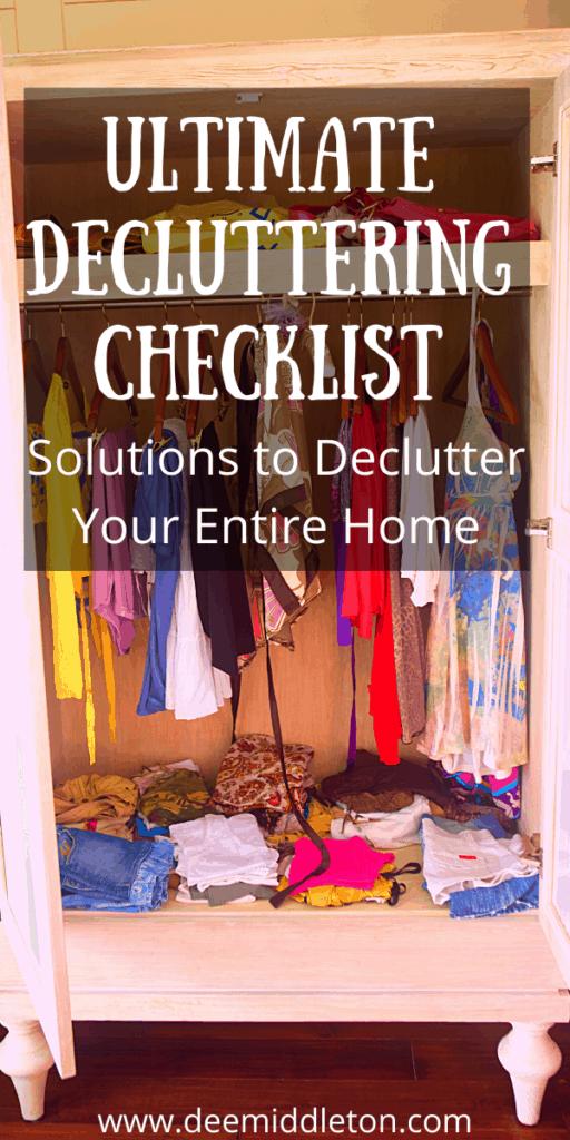 Ultimate Decluttering Checklist