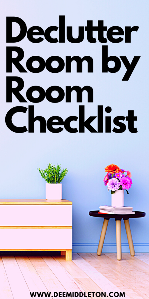 Declutter Room by Room Checklist