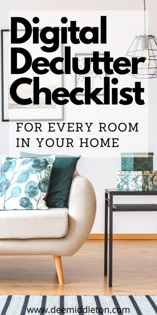 Digital Declutter Checklist