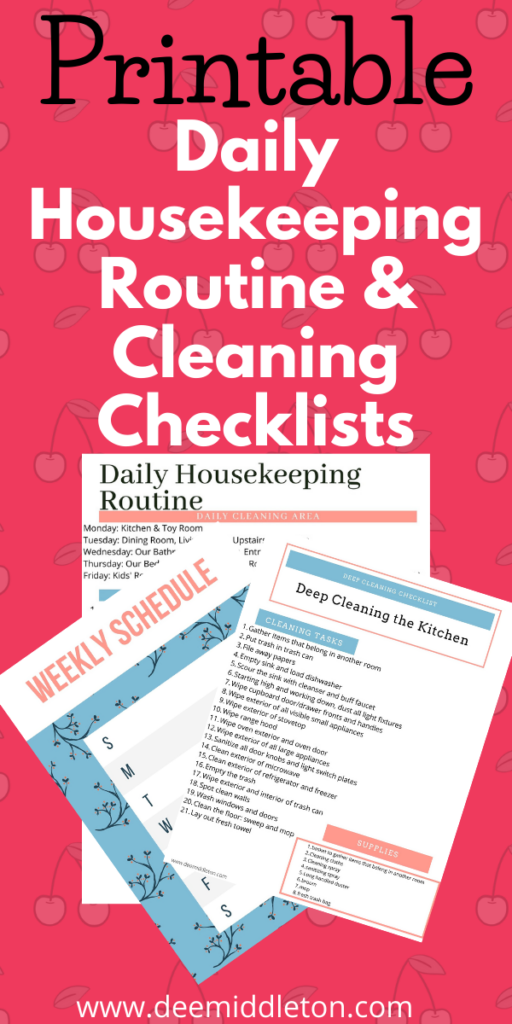 checklist for decluttering your house