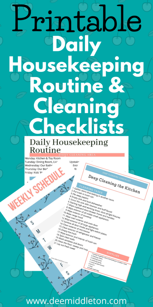 decluttering room by room checklist