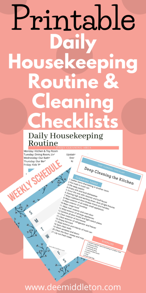 Cleaning and Decluttering Ideas