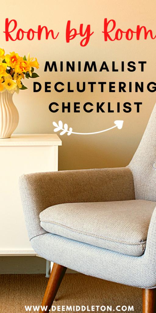 minimalist decluttering checklist