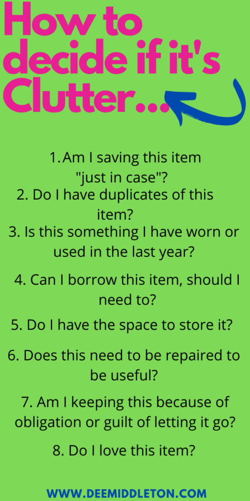 Hoarder Cleaning Checklist