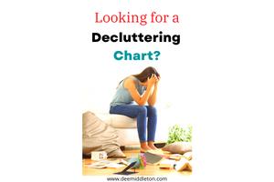 Decluttering Chart