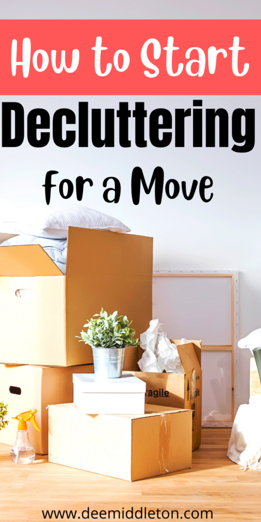 Decluttering for a Move