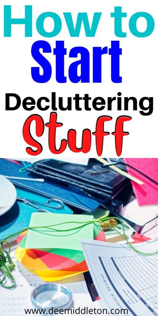 Decluttering Stuff