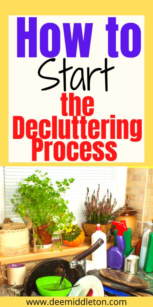 Decluttering Process